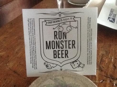 Ron Monster Beer