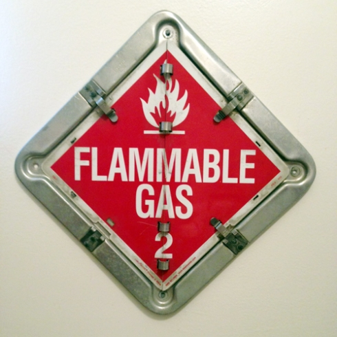 FLAMMABLE GAS! You know, like farts!