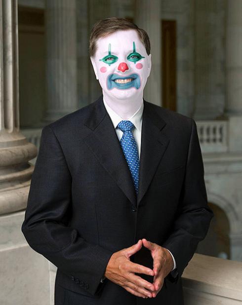 Lindsey Graham (Sen. R-SC) Obstructionist Republican Clown