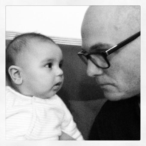 Baby vs. No Mustache
