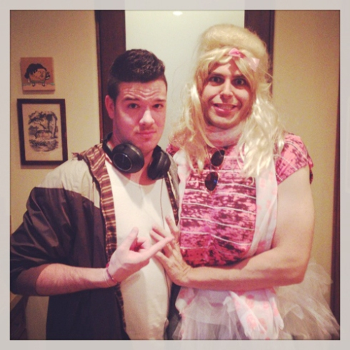 Flula and Jennifer (who poops at parties)!