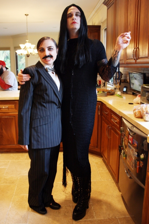 Gomez and Morticia Addams!
