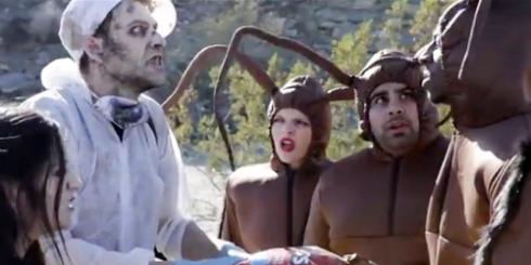Doritos' Crash the Super Bowl VIII: Zombies vs. Cockroaches