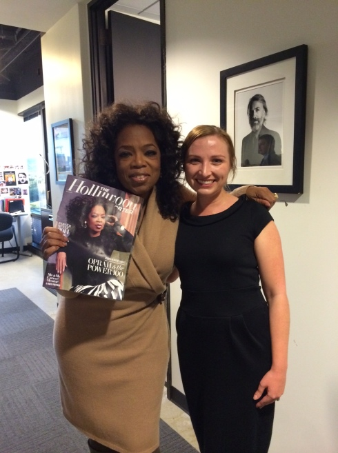 And you get a picture with Oprah! And you get one! And you! And you!