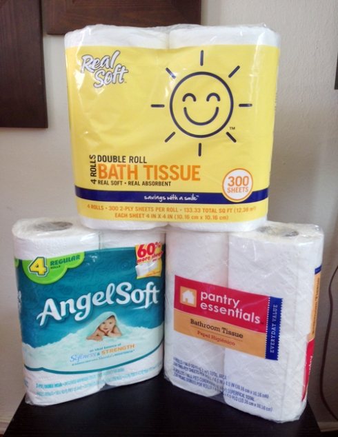 Toilet Paper of the Months: October, November, and December!