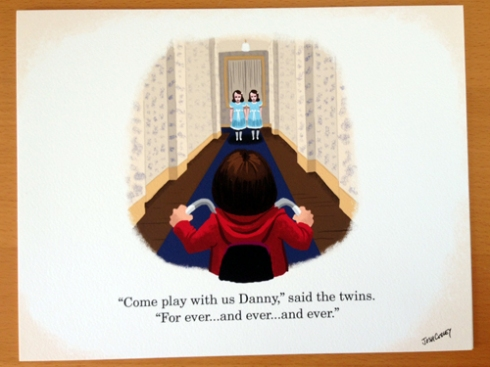 """The Shining"" by Josh Cooley."