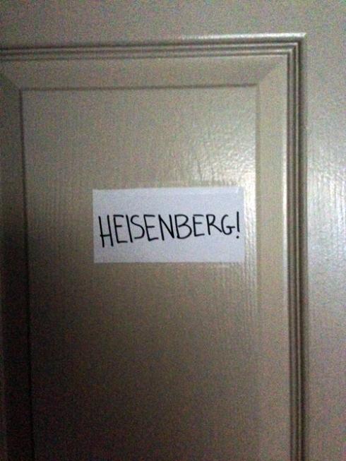 MORE HEISENBERG!