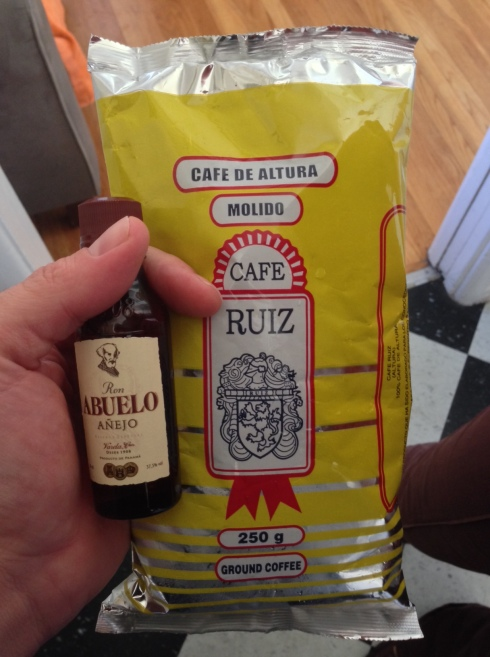 Panama's best coffee and rum? We'll see!