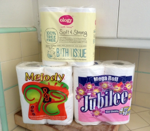 Toilet Papers of the Month: February, March, and April!
