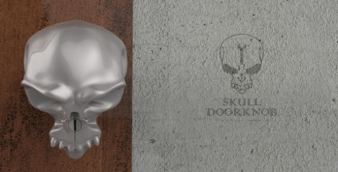 WANT: Skull doorknobs from Forever Fineness.