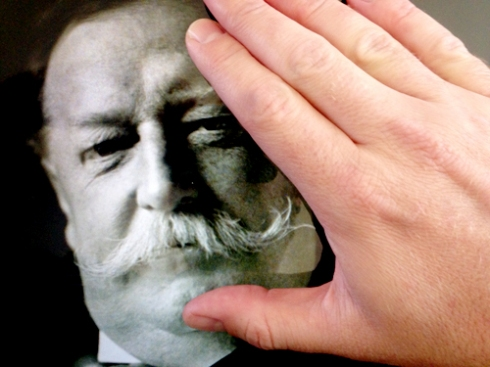 Touching Bill Taft