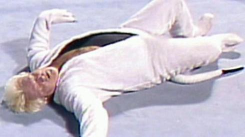 "Bobby ""The Brain"" Heenan... in a weasel costume!"