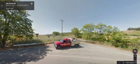 Lake Herman Road on Google Maps.