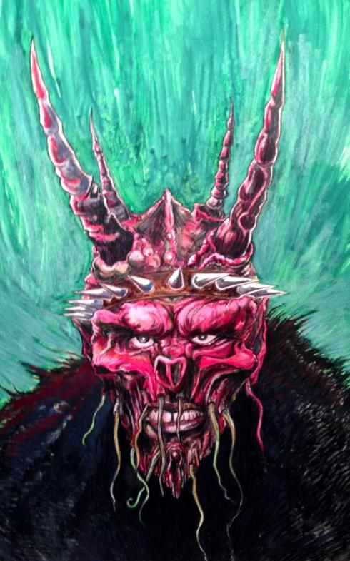 Oderus Urungus by the super awesome Erik Rose!