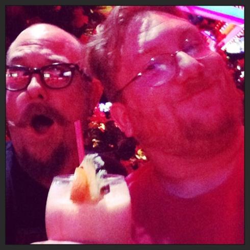 With Latta! In Vegas!