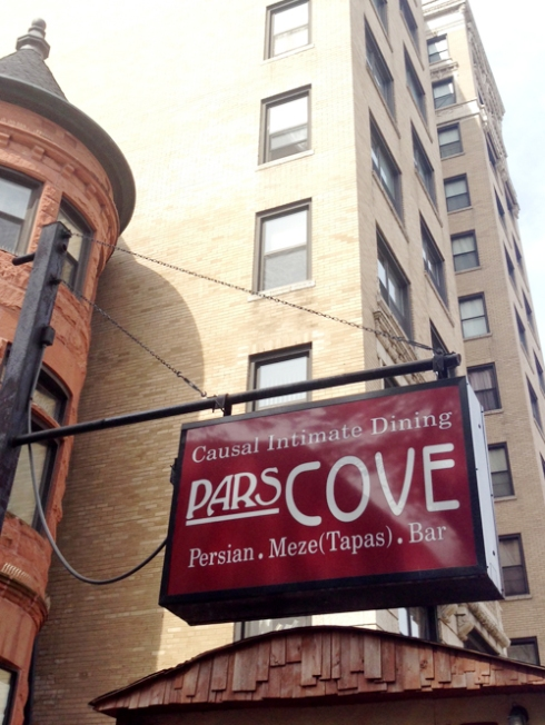 Pars Cove: A restaurant of causal intimate dining.
