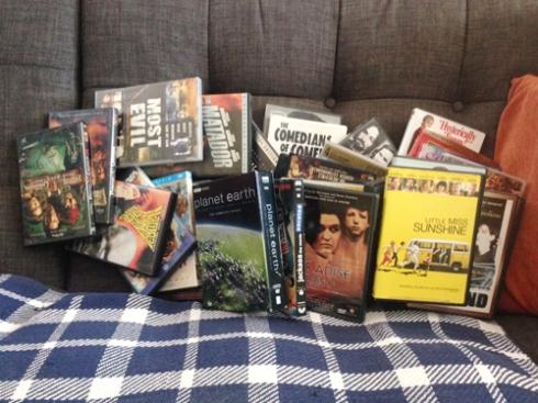 DVD PURGE... BEGIN!