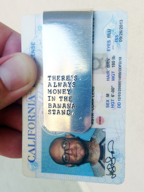 My new money clip!