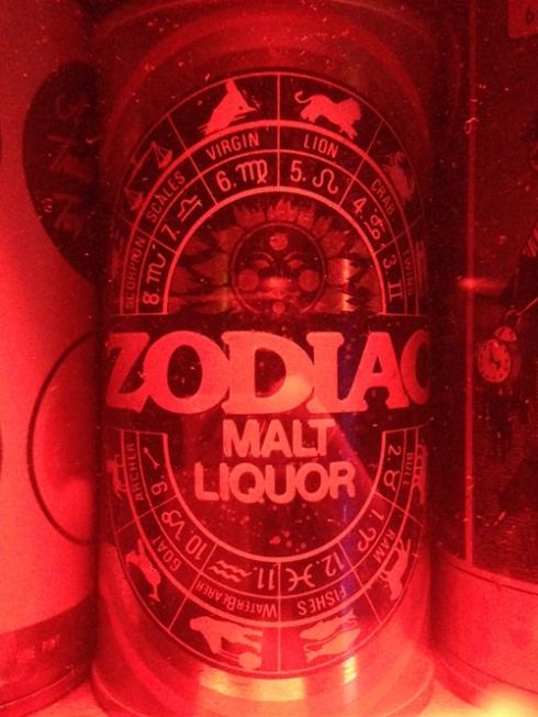 Zodiac Malt Liquor!
