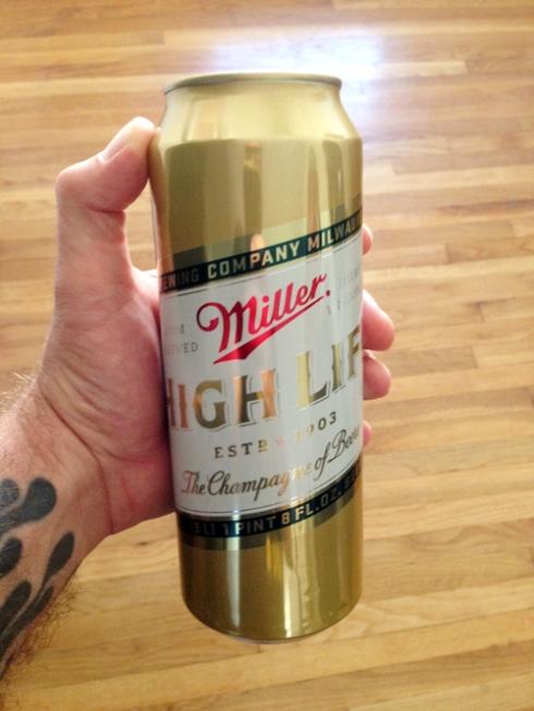 Cheap Date: Miller High Life