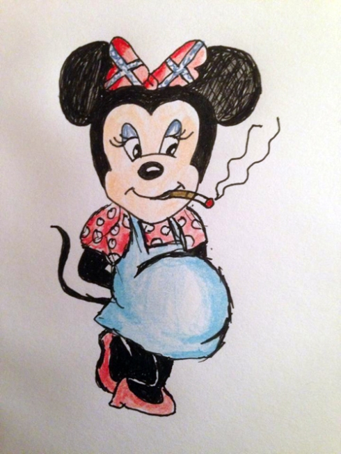 Alabaman Minnie Mouse by Laura Schmidt!