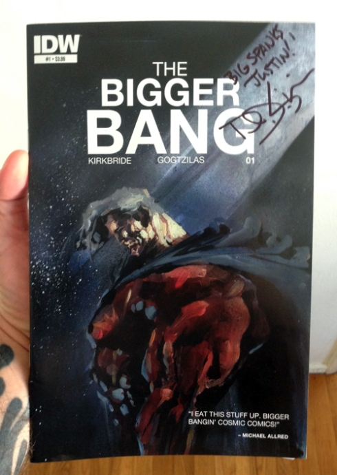 "IDW's ""The Bigger Bang"" by D.J. Kirkbride!"