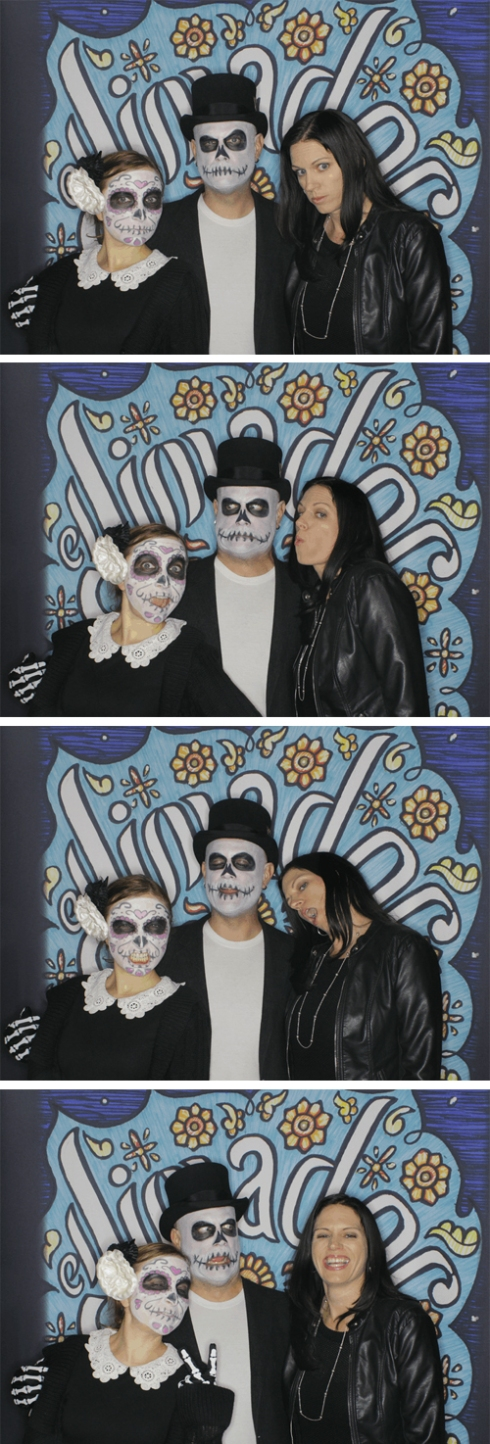 KB, Shady and Sue celebrating Dia de los Muertos at Hollywood Forever Cemetery!