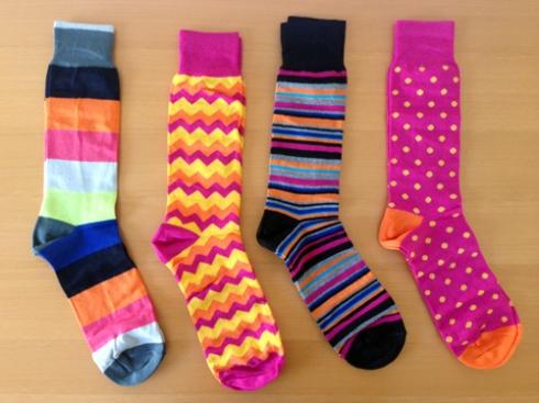Sweet! Socks!