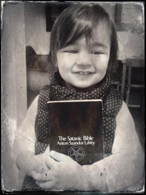 Her first book!