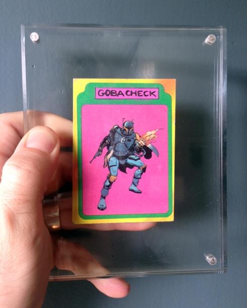 GOBACHEK TRADING CARD!