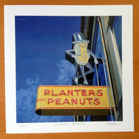 """Planters Peanuts"" by Amanda Hope Cook!"
