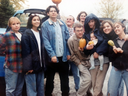 October 1996: The 3rd Annual Pumpkin Picking Extravaganza