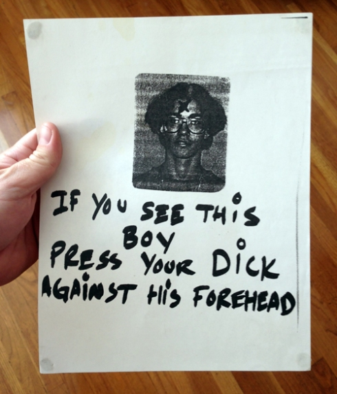 DICK + FOREHEAD = HILARIOUS!