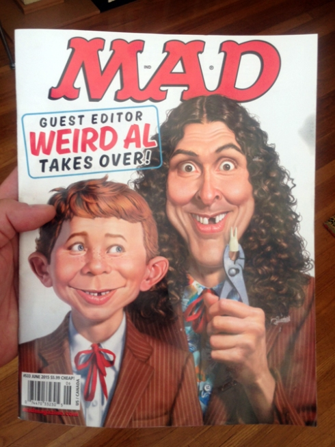 """Mad Magazine"" with Jose Garibaldi!"