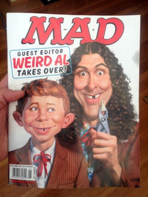 """Mad Magazine"" with Jose Garibaldi!"