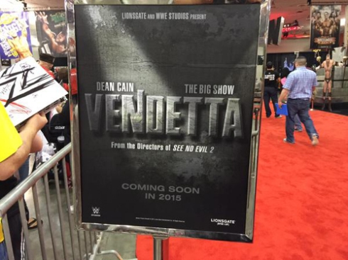 """Vendetta"" poster! It's for real! Holy crap!"