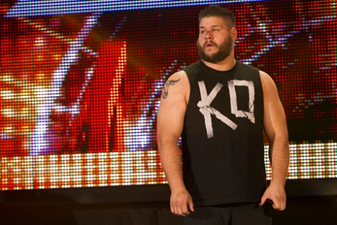 NXT Champ Kevin Owens talks to me!