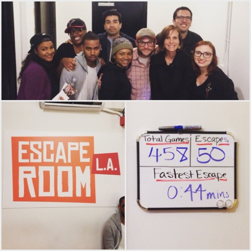 Escape Room L.A. friends!