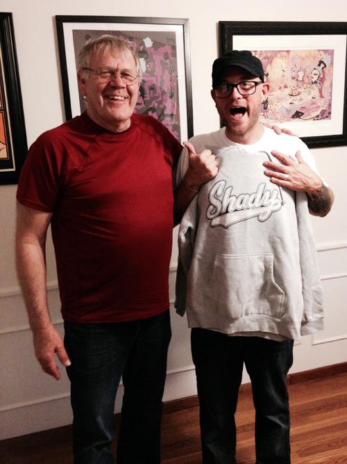 Loren! And a new Shady sweatshirt!