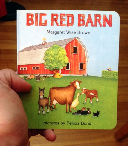 That's one big red barn!