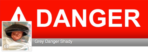 Grey Danger Shady is now on Facebook!