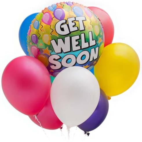 Get well soon... again!