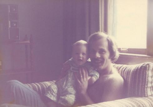 Ron & Justin: April 1977