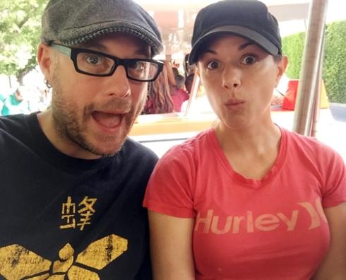 Disneyland surprise!