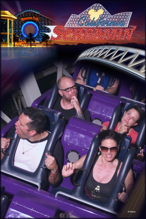 California... Screamin'? Hmmm.