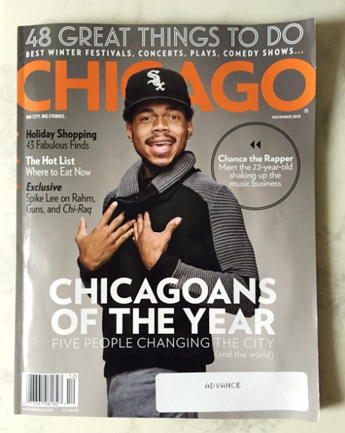 """KB's first """"Chicago"""" cover!"""