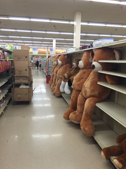 Aisle of nightmares!