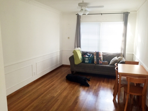 My best apartment to date... and I lived in it for seven months.