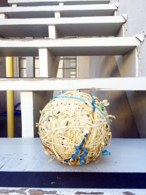 It's been real, rubber band ball!