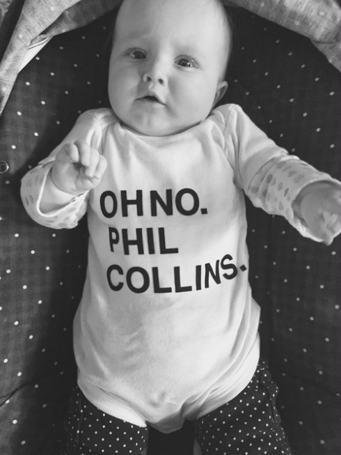 Oh no. Phil Collins.